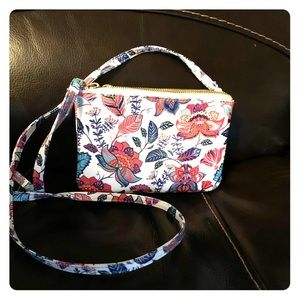 Cross the body small patterned purse